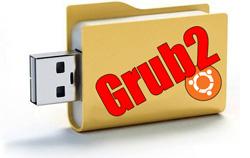 Установить GRUB2 на USB при помощи Ubuntu Linux